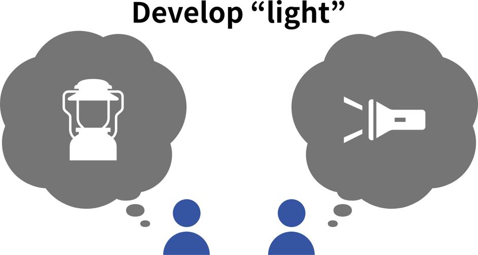 Develop Light