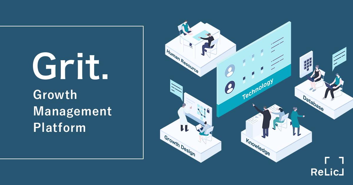 新規事業の「1→10」からマーケティング/営業組織のDXを加速するプラットフォーム | Grit.